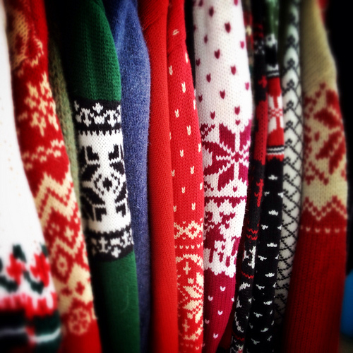 Ugly Sweater Happy Hour: Drink Up and Do Good on December 7th