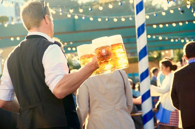 Grab a Pint and a Burger at Wunder Garten at NoMa